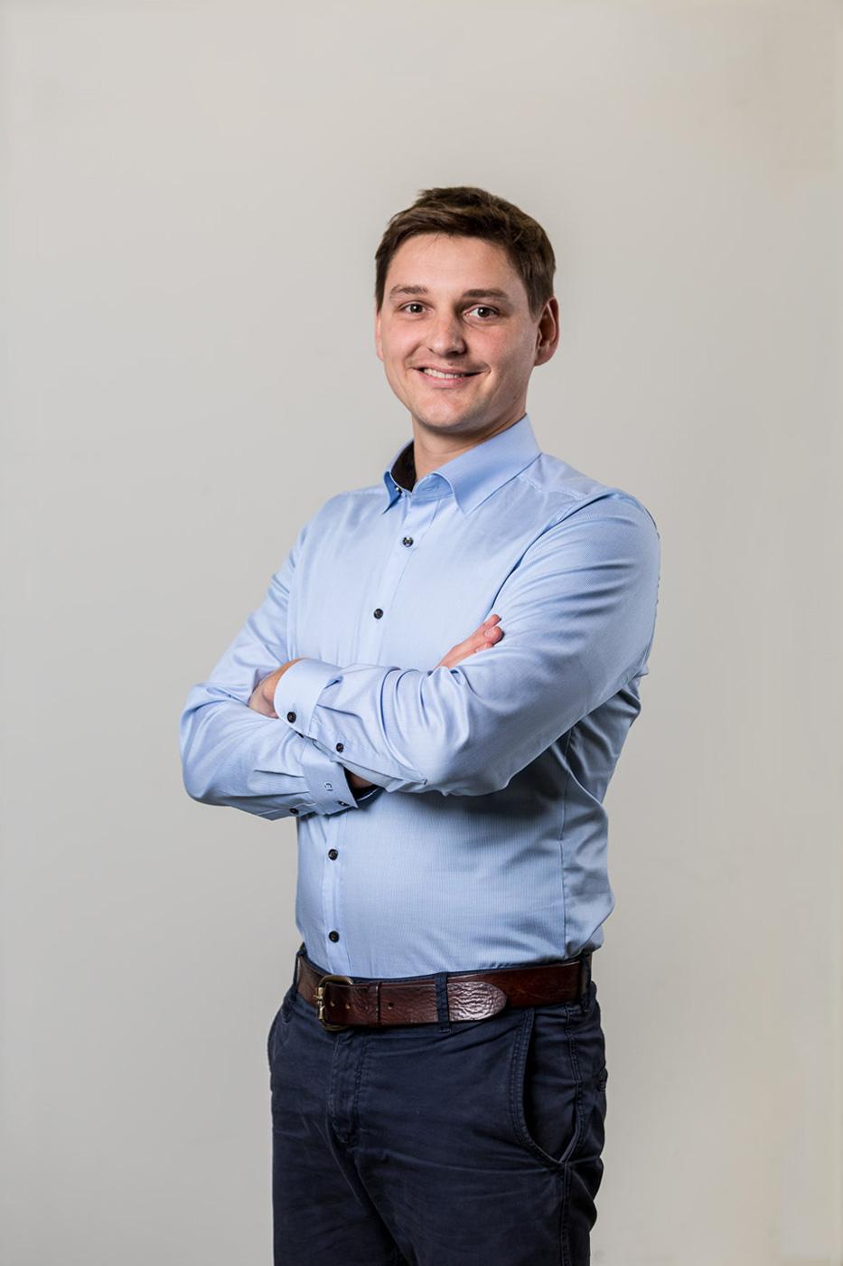 Szymon Pazak, Maschinenbauer und Mikrosystemingenieur